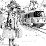 13 трамвай иллюстрация1